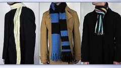 А вы знаете, как правильно завязывать шарф на пальто?