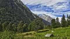 Абхазия, кодорское ущелье: описание, история, достопримечательности и интересные факты