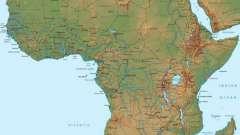 Африка: координаты крайних точек. География африки