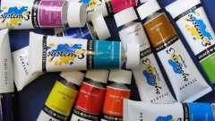 Акриловая краска художественная: характеристика и особенности