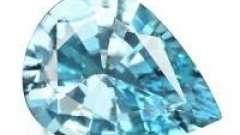 Аквамарин. Свойства камня и его описание