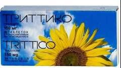 """Антидепрессант """"триттико"""": инструкция по применению и описание"""