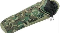 Армейские спальные мешки: описание, отзывы
