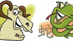 Астральная совместимость: коза и змея