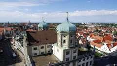 Аугсбург, германия: описание, достопримечательности, фото