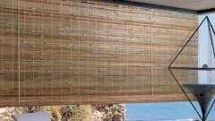 Бамбуковые рулонные шторы: описание, механизм крепления и отзывы