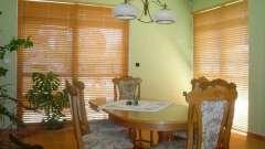 Бамбуковые жалюзи - прекрасный элемент дизайна комнаты