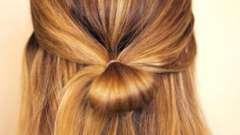 Бант из волос: делаем сами