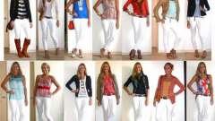 Белые джинсы: модные решения и проблемы