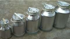 Бидоны алюминиевые - идеальная емкость для транспортировки продуктов питания!