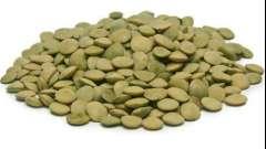 Блюда из чечевицы зеленой: рецепты приготовления с фото