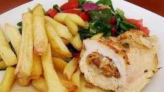 Блюда из филе кур - разнообразие вкусов
