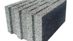 Блок керамзитный: характеристики, размеры, цены. Строительство из керамзитных блоков