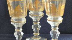 Богемское стекло - один из самых популярных материалов для изготовления посуды
