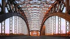 Большеохтинский мост санкт-петербурга: между прошлым и будущим