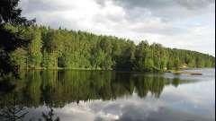 Большое симагинское озеро - место для отдыха и рыбалки