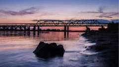 Борский мост в нижнем новгороде