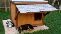 Будка для немецкой овчарки: размеры, схема, инструкция строительства