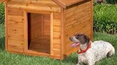 Будка для собаки: правила постройки, расчет размеров и требуемые материалы