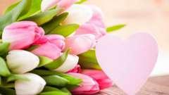 Букеты из тюльпанов на 8 марта – идеальный подарок для женщины