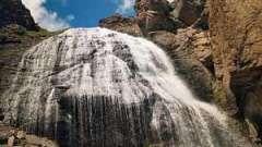 Чегемские водопады: красивая сказка природы
