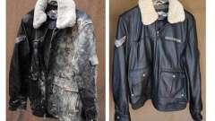 Чем и как покрасить кожаную куртку в домашних условиях