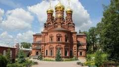 Черниговско-гефсиманский скит троице-сергиевой лавры: описание