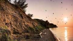 Черный песок. Песчаные пляжи: красные, белые, желтые