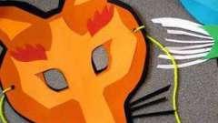 Что надо для создания маски лисы?