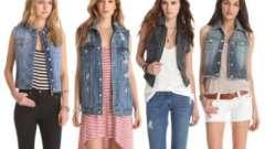 Что носить с джинсовой жилеткой: советы