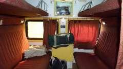 Что нужно знать про расположение мест в купейном вагоне поезда?