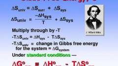 Что такое свободная энергия гиббса?