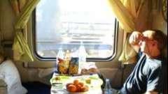 Что взять в поезд из продуктов питания и напитков?