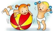 Чтобы детки росли здоровыми: комплексы утренней гимнастики во второй младшей группе