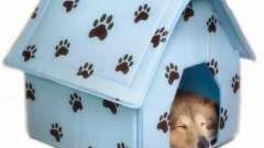 Чудесный мягкий домик для собаки