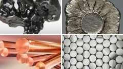 Цветные, драгоценные и черные виды металлов и их характеристика