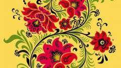 Цветочный орнамент для росписи. Орнаменты для точечной росписи