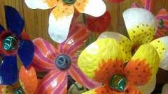 Цветы из пластиковых бутылок: мастер-класс с пошаговым описанием
