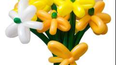 Цветы из воздушных шаров своими руками