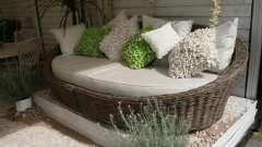 Дачная мебель: своими руками оборудуем место для отдыха