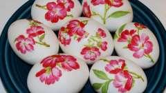 Декупаж пасхальных яиц и его история