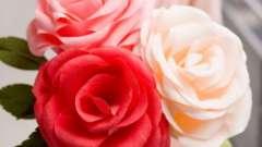 Делаем цветок из гофрированной бумаги своими руками
