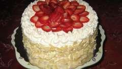 Делаем красивый и вкусный торт без мастики