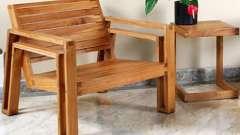 Делаем мебель из дерева своими руками