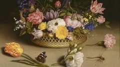 Делаем оригами: ваза с цветами