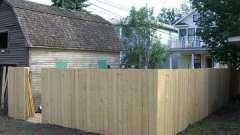 Делаем забор на даче своими руками
