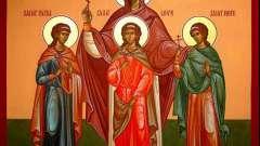 День ангела: вера, надежда, любовь и софия. История праздника