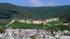 Дербентская крепость: история и достопримечательности (фото)