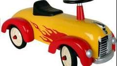 Детская машинка-каталка - игрушка и транспорт для малыша