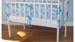Детские бортики в кроватку: за и против